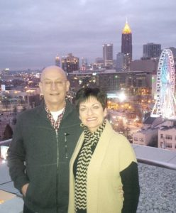Sherri and Mark Selman, Downtown Atlanta