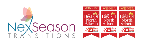 NexSeason logo with three Best of North Atlanta Banners